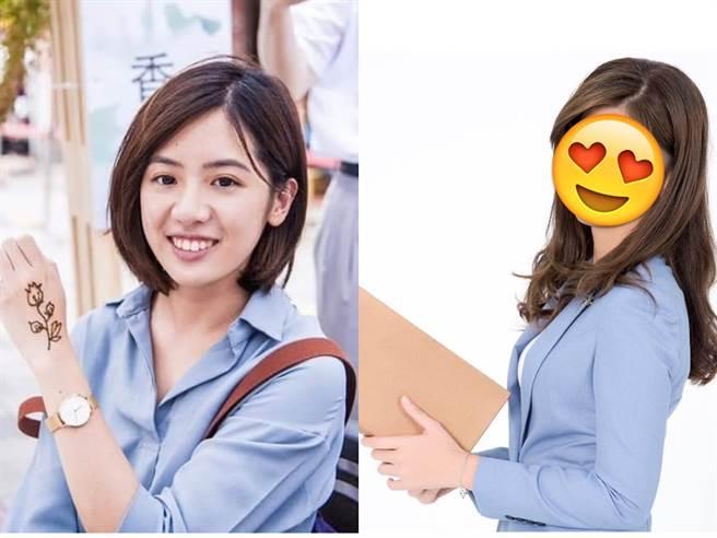 據傳明年立委選舉,柯文哲組的台灣民眾黨,將推出比學姊(左)還美的美女刺客(右)。(圖/摘自學姐加油-黃瀞瑩粉絲團、蔡宜芳臉書)