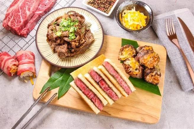 中秋節倒數計時,超市量販瞄準烤肉商機,爭相推出頂級肉品跟海鮮,還有多款烤肉周邊配備。(圖/愛買提供)
