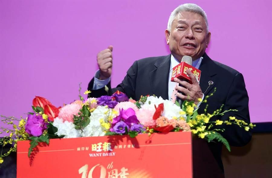 旺董蔡衍明表明絕對不會出賣台灣。(圖/資料照/陳信翰攝)