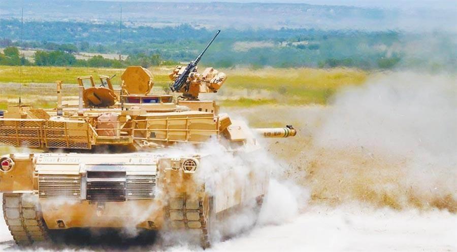 美國務院批准「M1A2戰車」對台軍售案。(取自美陸軍官網)