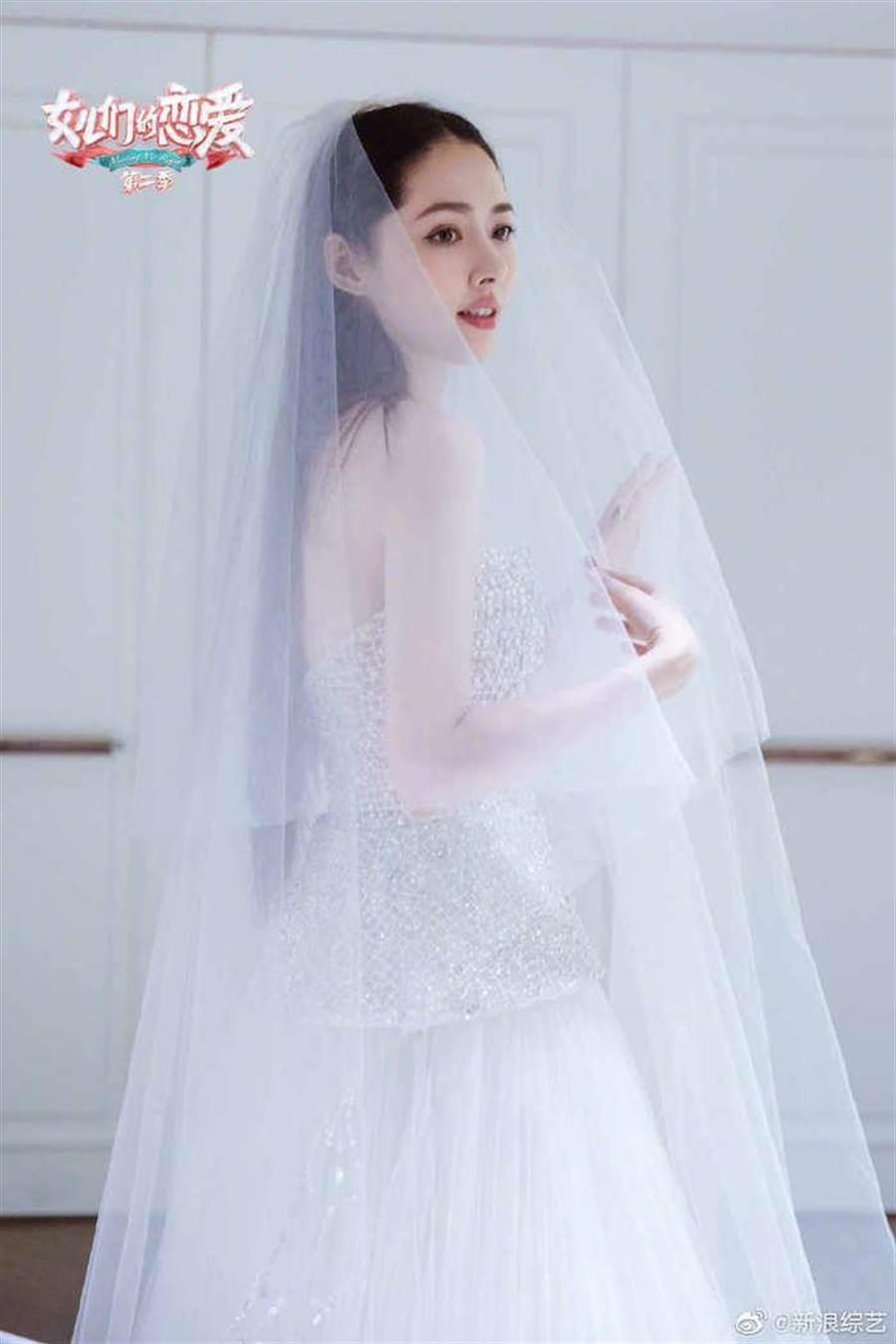 待嫁新娘。取自微博