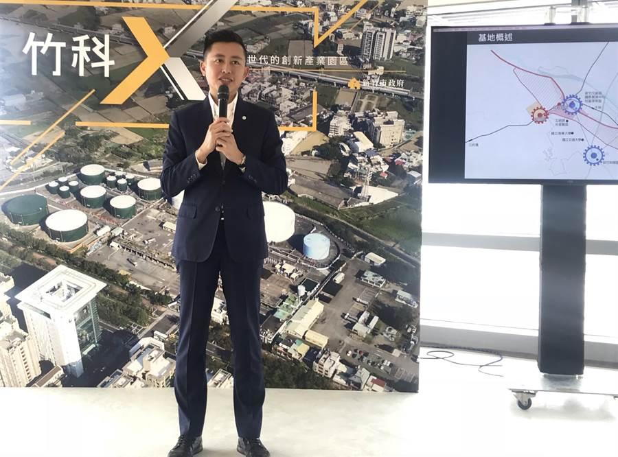 新竹市長林智堅擘劃智慧城市藍圖,5日獲《財訊》「2019年全台智慧城市大調查」首長施政評比全國第1。(陳育賢攝)