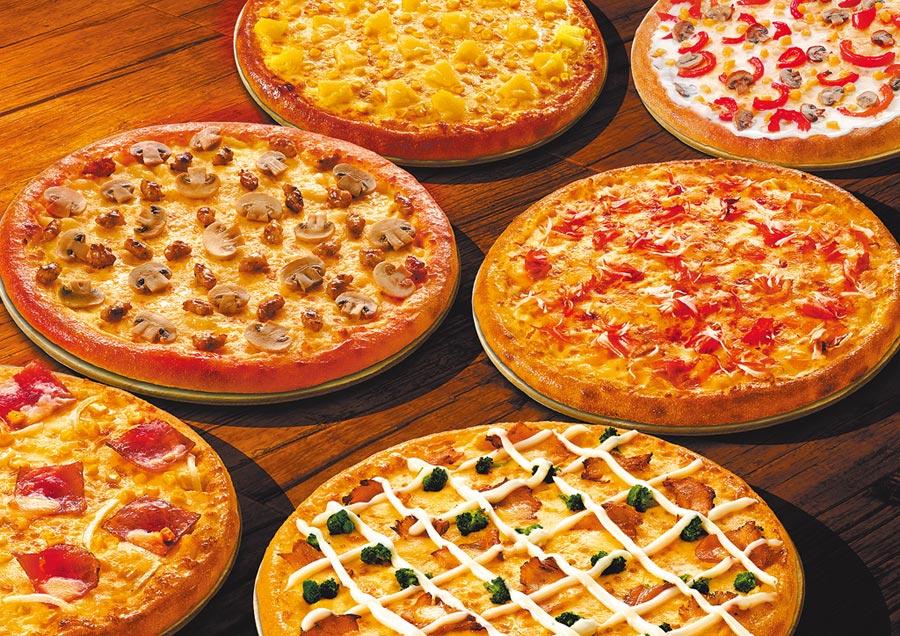 達美樂推出外帶大披薩,1個只要219元。(達美樂提供)