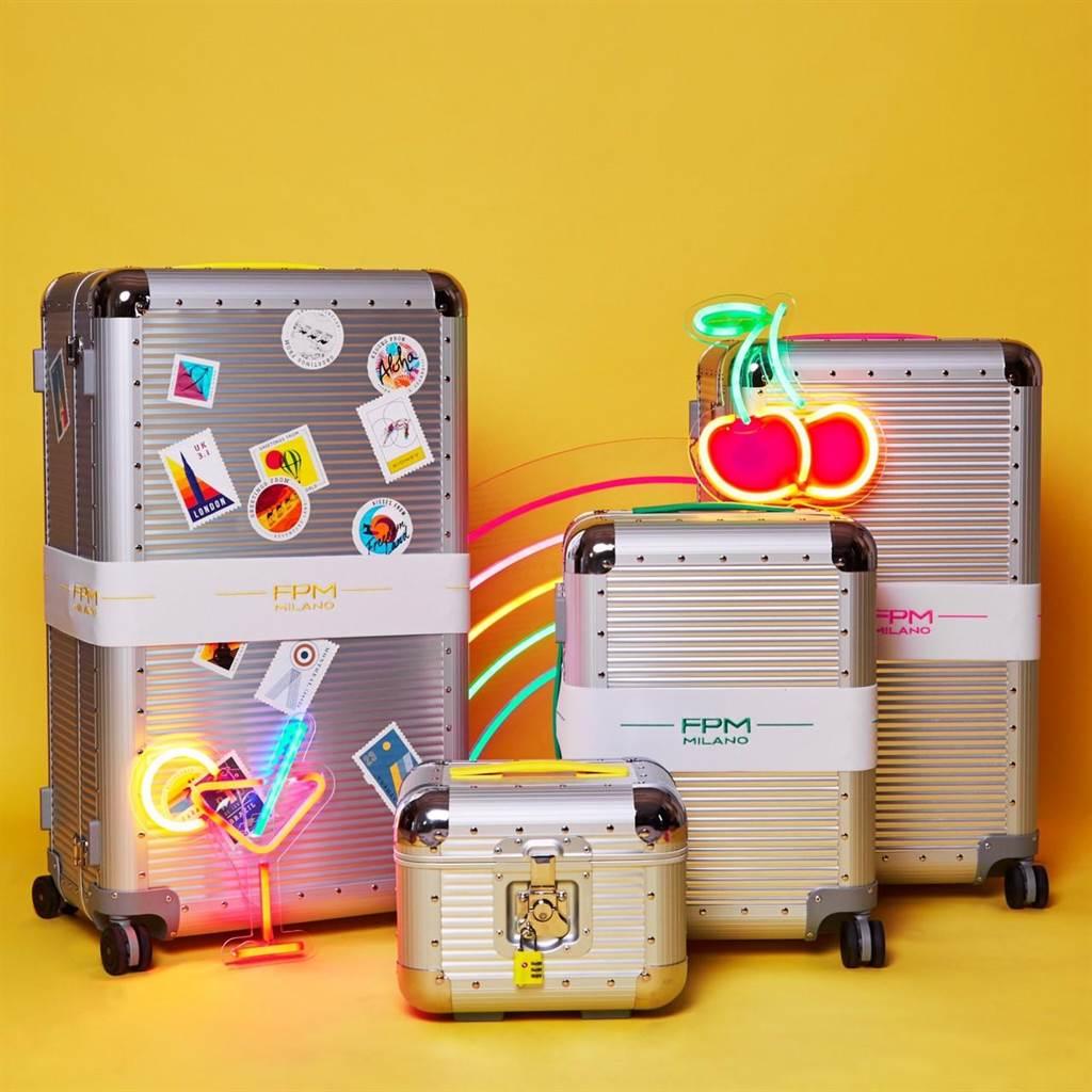 FPM BANK S系列有7種不同尺寸並可更換螢光色手把,售價2萬4800元至4萬2000元不等。(FPM提供)