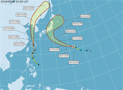 玲玲颱風漸遠離  低壓帶影響中南部小心雨勢