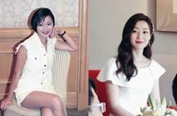「香港第一美腿」奔五偷拍照曝光 網友:變老的只有我
