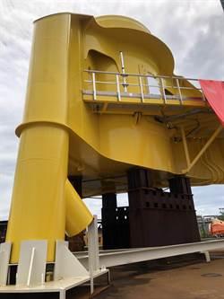 首座本土離岸風電「轉接段」亮相 沃旭進入水下基礎階段