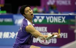 羽球》周天成轻松进韩国赛四强