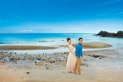 愛在莒光 方塊海拍婚紗超浪漫