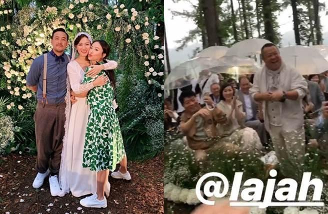 曾國祥和女友今在日本完婚。(圖/翻攝自missjni IG)