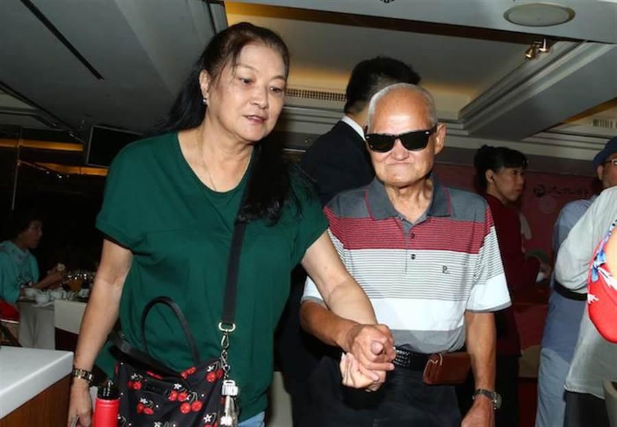李炳輝和老婆雅惠。粘耿豪攝