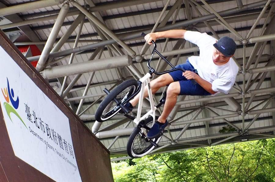 台北國際極限運動大賽7日登場。(台北市體育局提供)