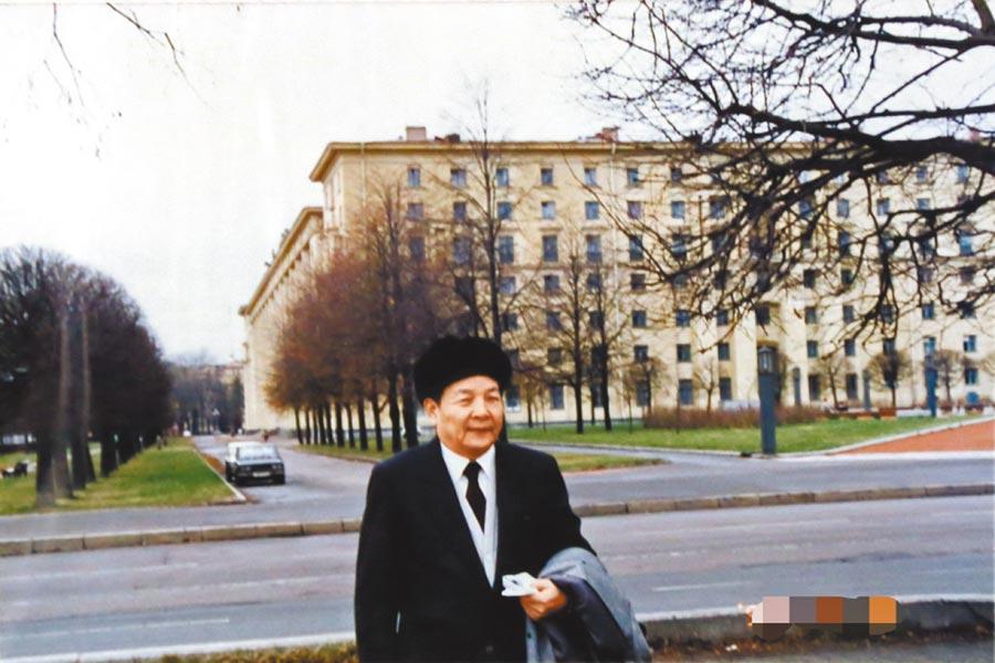 中部政商界聞人、群園集團總裁呂崇民的父親呂國震。(翻攝照片/盧金足台中傳真)