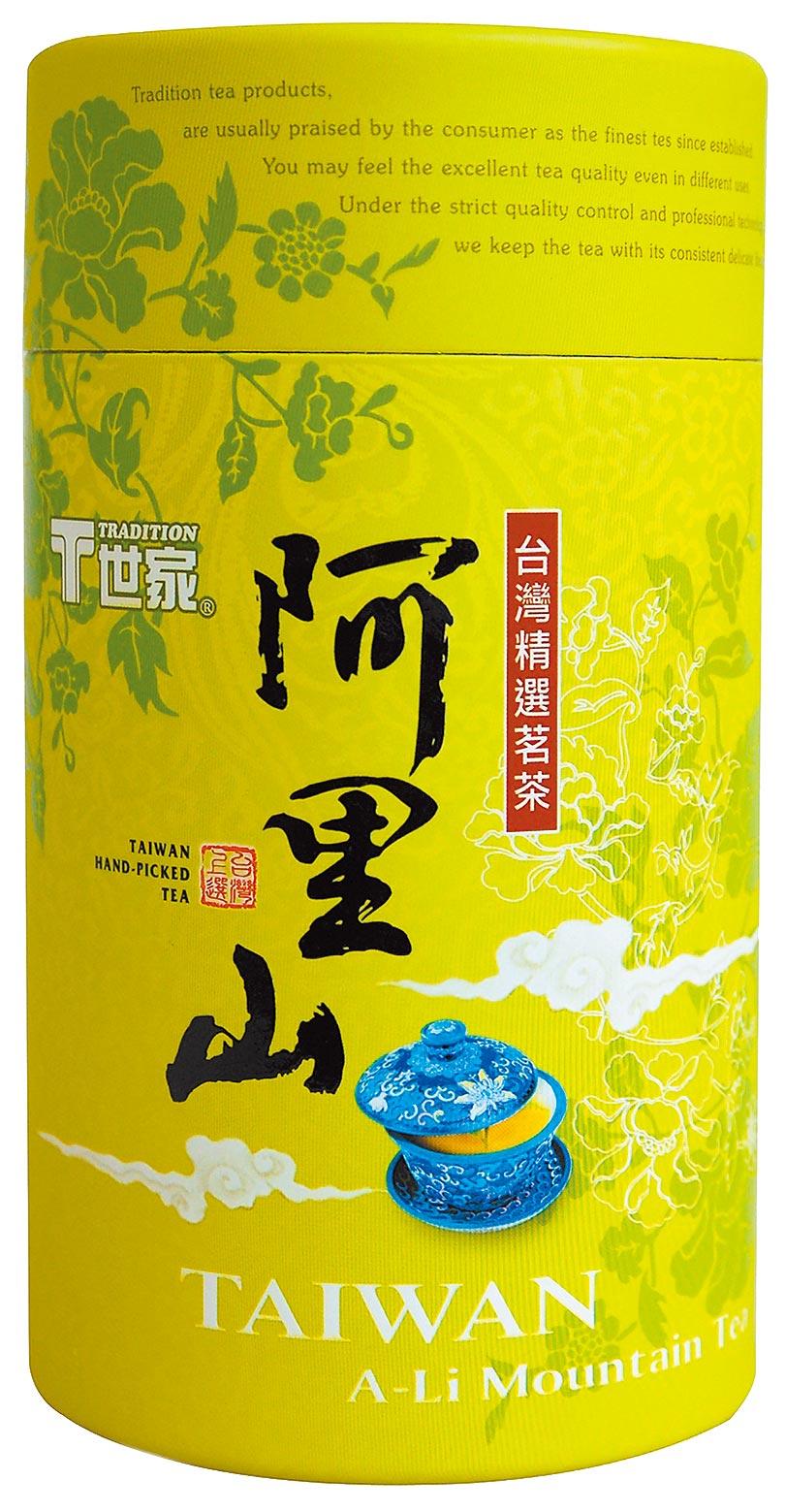 全聯T世家阿里山茶150g、320元,6日至19日買2件特價519元。(全聯提供)