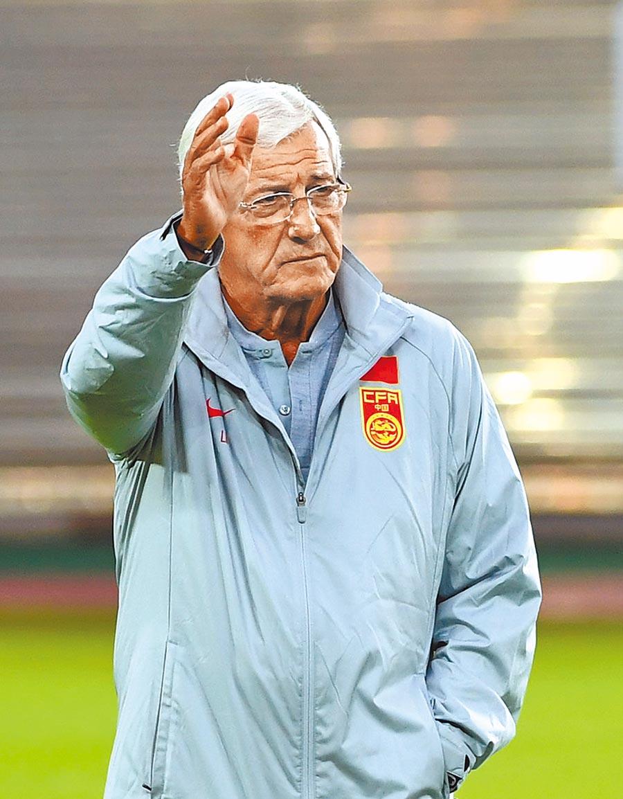 大陸國足主教練里皮。(新華社資料照片)