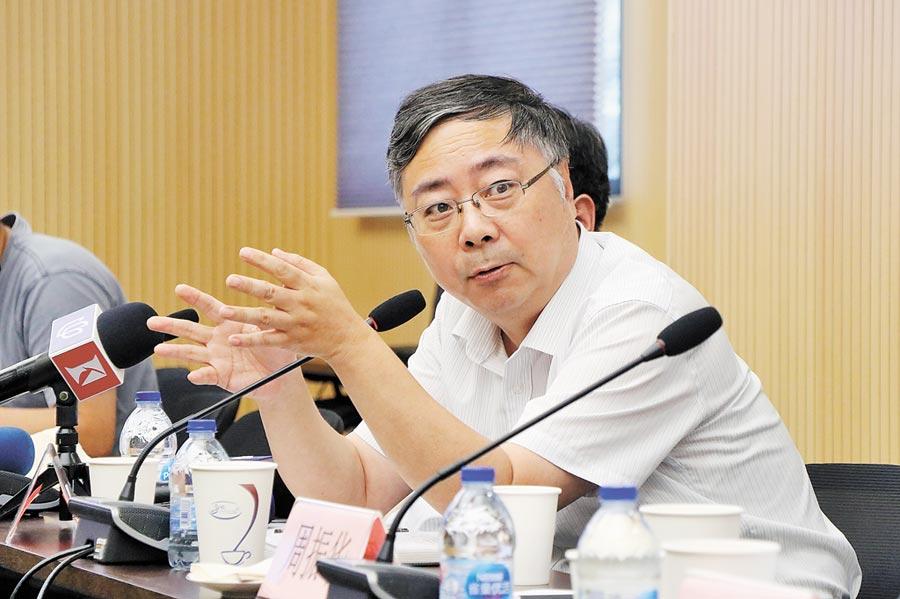 上海市政府發展研究中心副主任周國平認為,臨港新片區帶來上海新經濟動能與南部發展機遇。(記者吳泓勳攝)