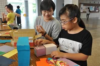 回收紙盒變玩具 兼具環保與創意