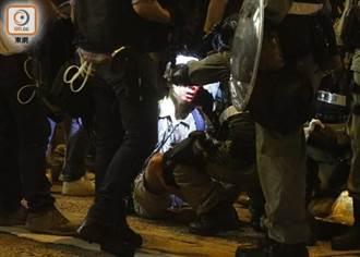 防暴警及速龍小隊彌敦道驅散 多人被制服