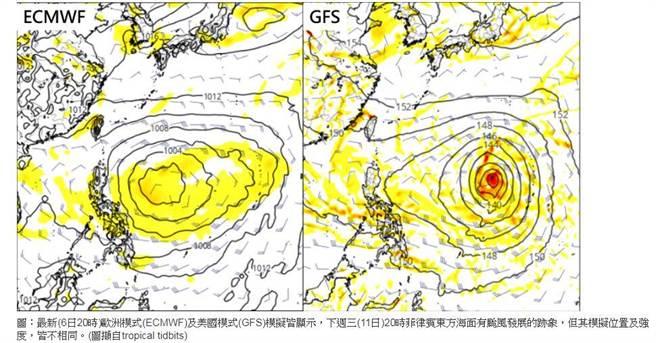 氣象專家吳德榮表示,下週熱帶擾動仍然活躍,中秋節前恐有颱風生成。(翻攝「三立準氣象·老大洩天機」專欄)