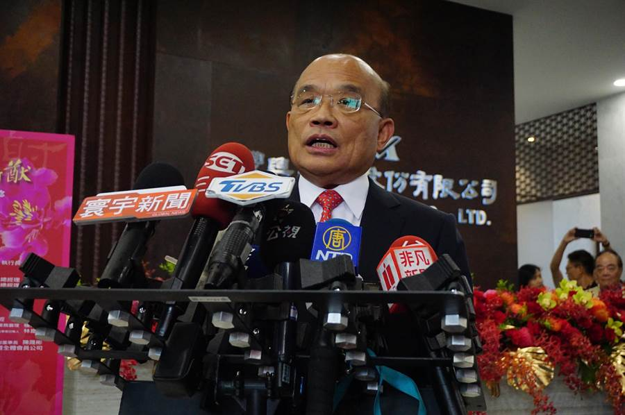 針對陳菊被揶揄是「肥的韓國瑜」,行政院長蘇貞昌感到不捨,並表示,陳菊從年輕時就投身台灣民主運動,高雄市長任內多次獲五星評比,竟因選舉遭受人身攻擊。(王文吉攝)