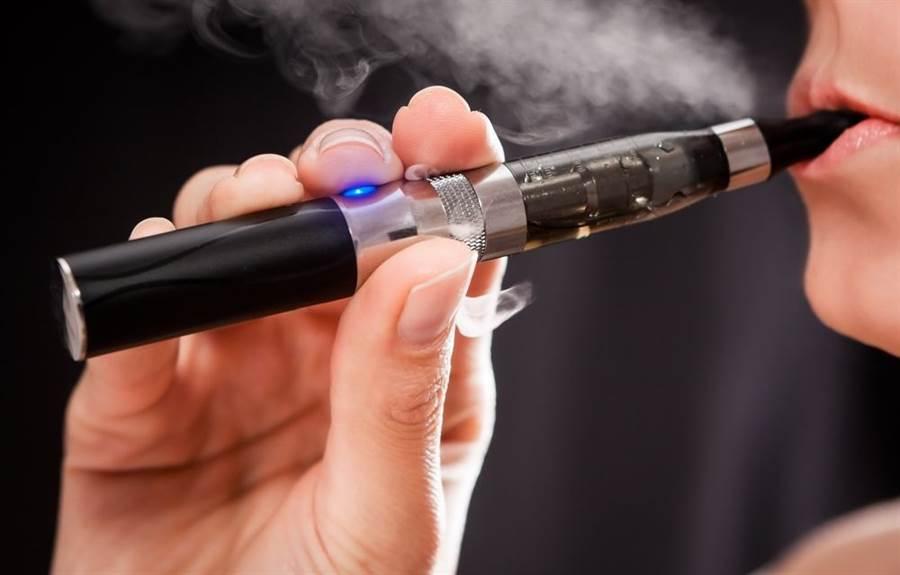 電子菸示意圖。(圖/Shutterstock)