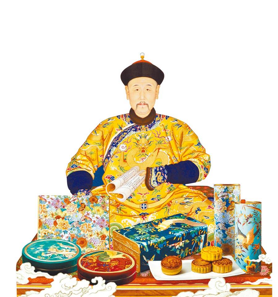 北京故宮為中秋佳節推出限量月餅禮盒。(取自新浪微博@故宮食品)