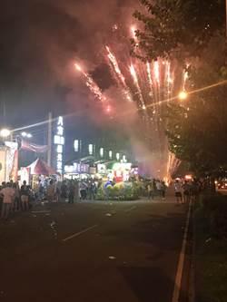 台中廟會嗨過頭 深夜放煙火嚇醒數萬人