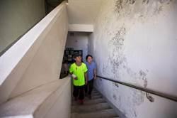 里民中心壁癌漏水 基市府促防漏整修