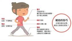 健走6地雷動作 專家:瘦身效果剩一半