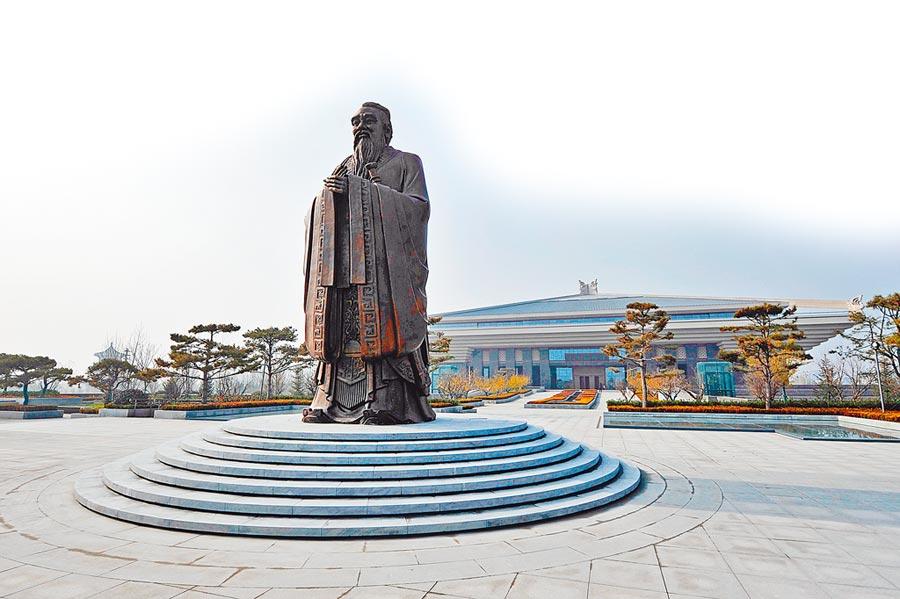 9月6日,山東曲阜孔子博物館正式開館。(CFP)