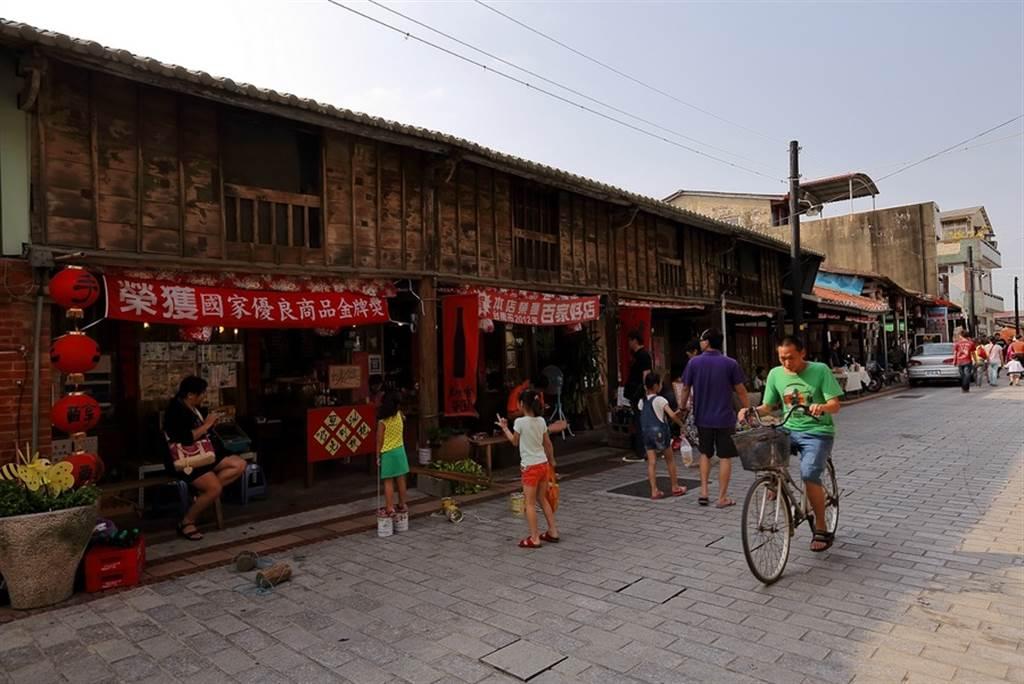 菁寮老街。(圖取自台南旅遊網)