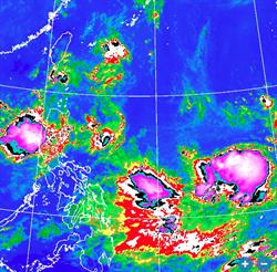 琵琶颱風恐生成 最新模擬路徑曝光