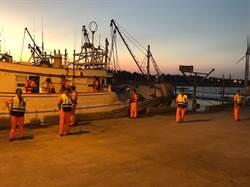 黑夜拚命 海巡一夜安檢439人船   天羅地網阻絕豬瘟疫於境外