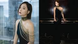王珞丹重現羅馬時尚!辣秀女人性感的肩頸側乳