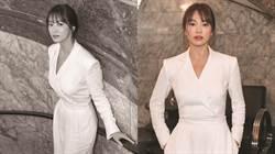 宋慧喬緊身深V出席時裝週「洩憔悴舉動」網心疼