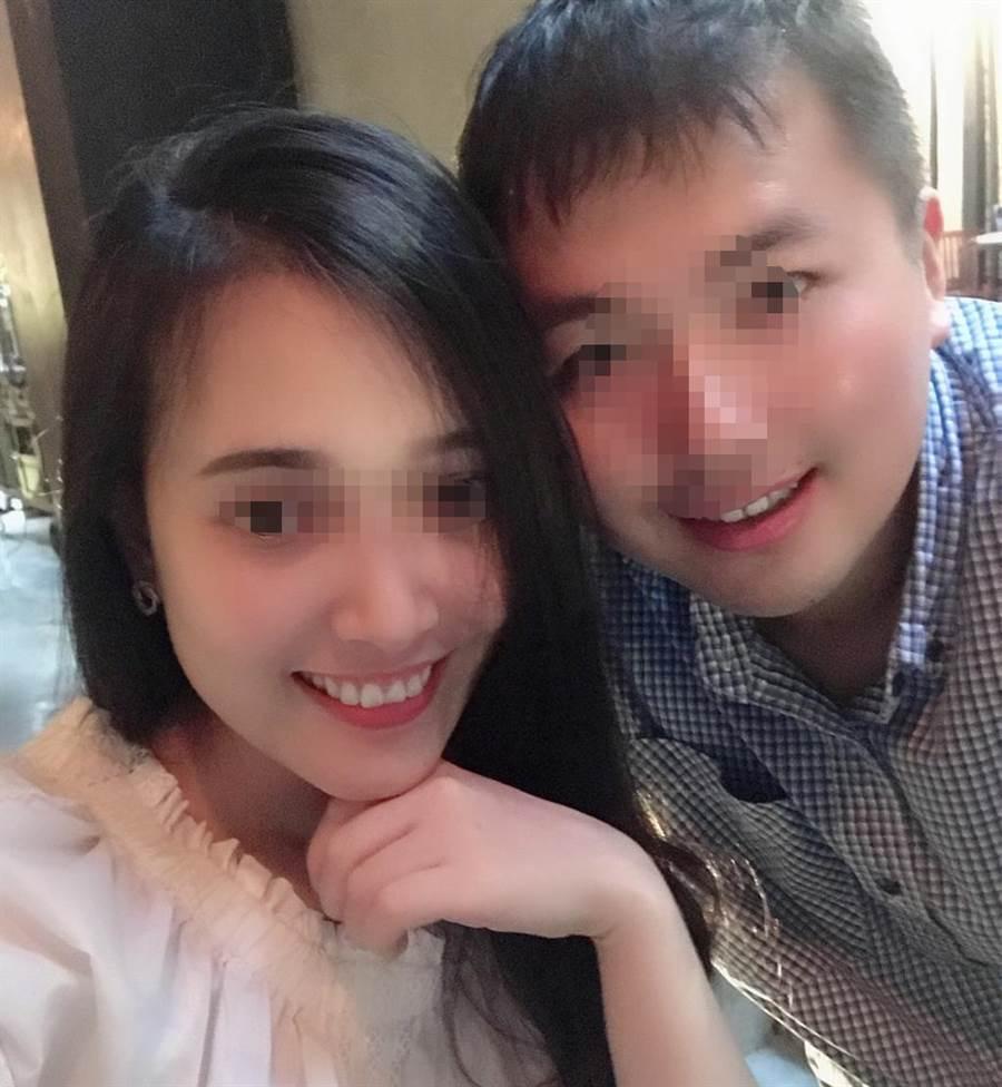 鄉民分享自己與越南女友合照。(照片來源:PTT)