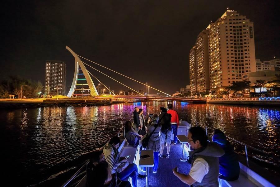 安平運河遊船。(圖取自台南旅遊網)