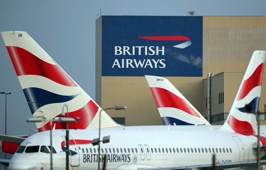 因為與資方薪水談不攏,約4,000名英國航空機師當地時間9日凌晨起展開為期2天的罷工行動,預計1,600個航班被迫取消,近30萬名旅客行程受到影響,媒體形容,這將是英國航空有史以來遭遇的最大罷工行動。(圖/路透社)