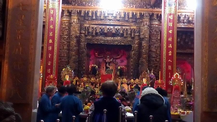彰化埔鹽順澤宮是地方重要信仰中心,供奉玄天上帝,已有300多年歷史。(翻攝自順澤宮臉書)