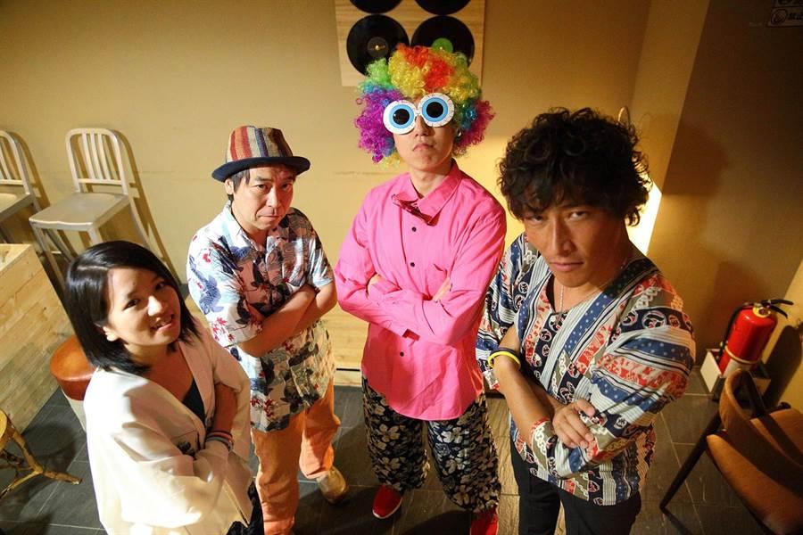 日本沖繩搖滾樂團Spoon de chop。(葫蘆墩文化中心提供/陳淑娥台中傳真)