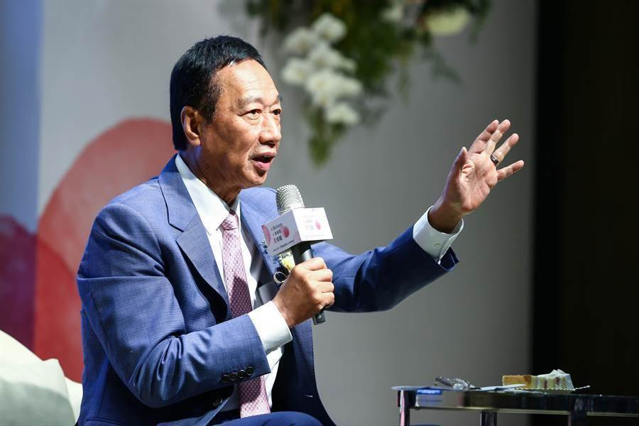 前鴻海集團董事長郭台銘。(本報資料照/鄧博仁攝)