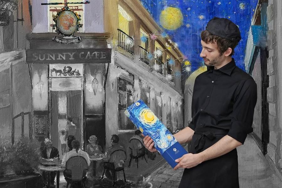 台北王朝大酒店的「月光珍寶盒」經典款,有「滷肉綠豆椪」、「咖哩肉鬆椪」、「紅豆沙蛋黃酥」各2入口味。(圖片提供/各飯店)