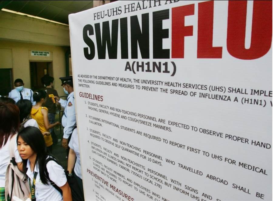 菲律賓農業部今證實發現非洲豬瘟病毒,近馬尼拉的黎薩省和布拉坎省都有豬隻受感染,7416頭豬隻遭撲殺,但當局堅稱市面上的豬肉安全可食用。 (美聯)