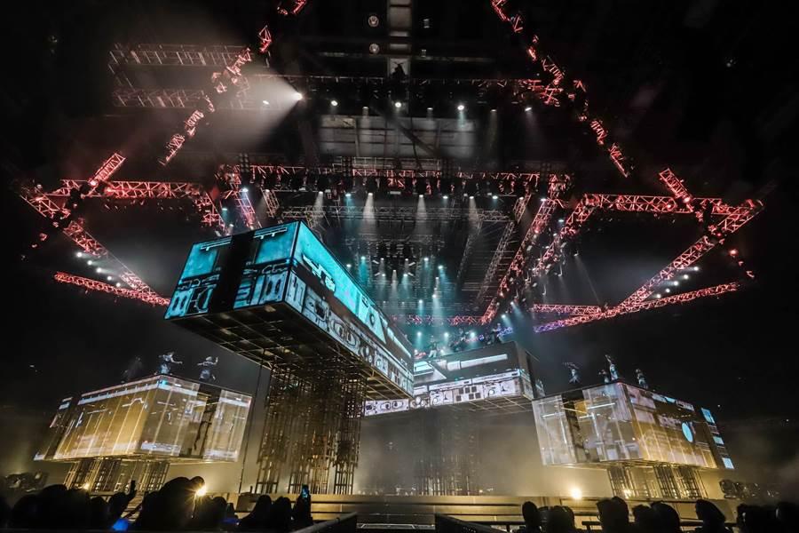 郭富城本周五將在小巨蛋開唱。(開麗娛樂提供)