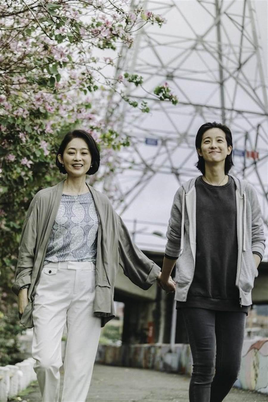 賴雅妍和劉瑞琪私交甚篤,為戲培養距離感。(華應提供)