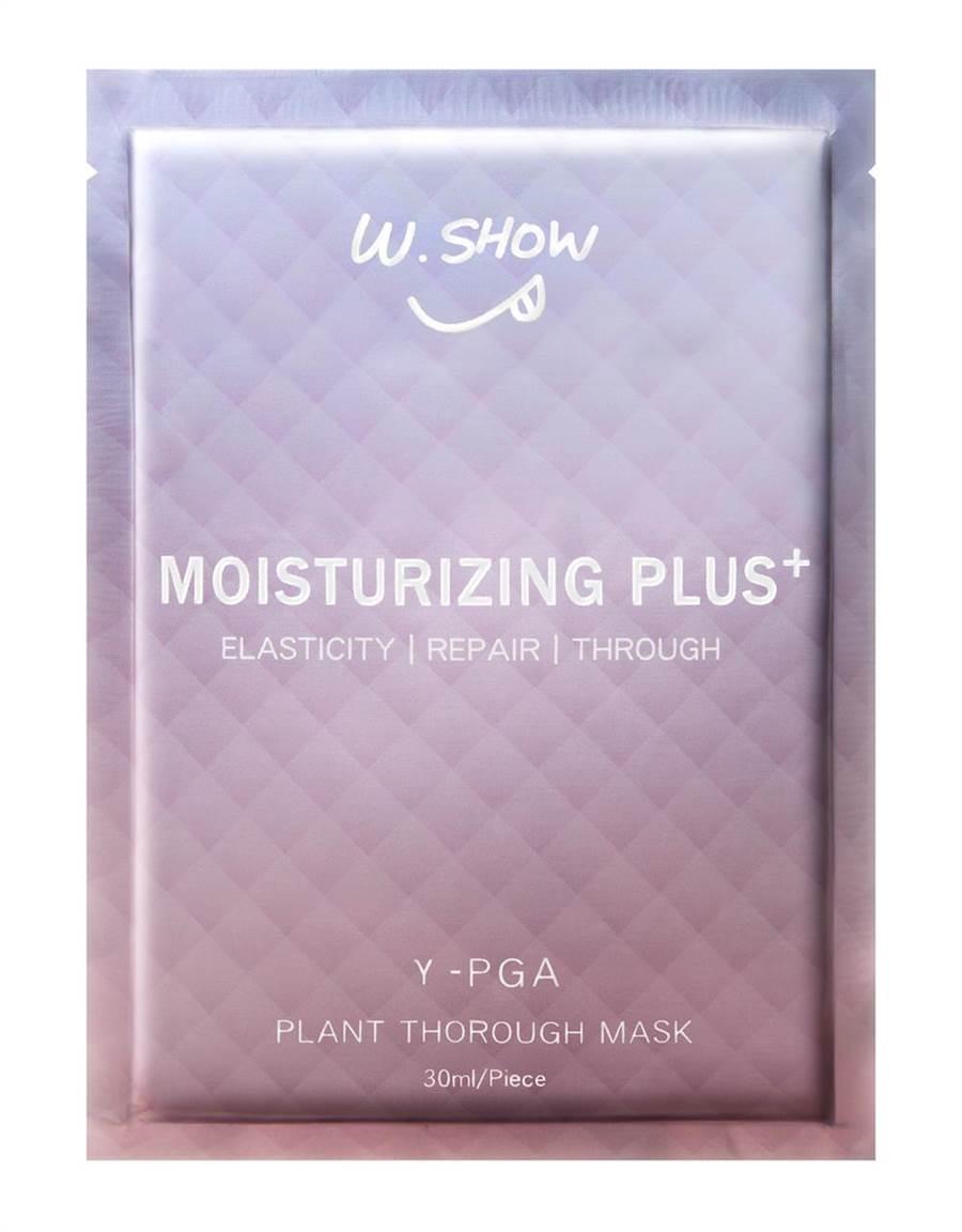 W.SHOW保濕面膜PLUS+,899元,10片組。。(W.SHOW提供)