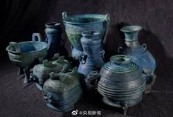 大陸追回被盜掘、走私到日本的周代「曾伯克父」青銅組器