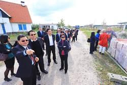 推動台中地方創生  盧秀燕訪荷蘭自由之地住宅區觀摩