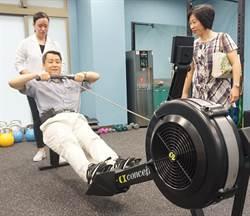 草屯療養院健身房落成 患者員工超新奇