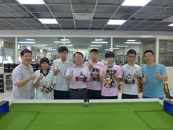 奧林匹亞機器人足球賽  僑泰奪全國銅